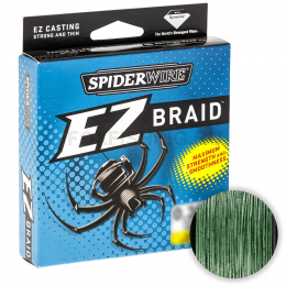Плетеный шнур SPIDERWIRE EZ 100м. 0.35мм. LOW VIS GREEN