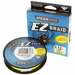 Плетеный шнур SPIDERWIRE EZ YELLOW 0.30mm 100m