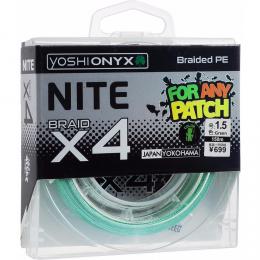 Плетеный шнур YOSHI ONYX Nite 4 Green 1.5