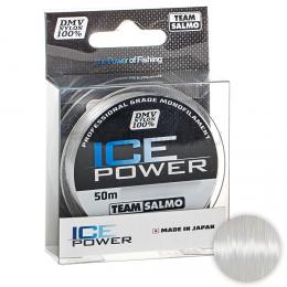 Зимняя SALMO ICE POWER 50м. 0.10мм. CLEAR