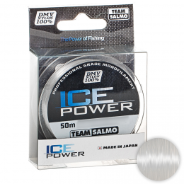 Зимняя SALMO ICE POWER 50м. 0.14мм. CLEAR