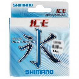 Зимняя SHIMANO ICE SILKSHOCK 50mt 0,22