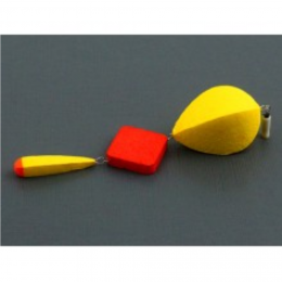 Оснастка Поплавок SATURN зимний трёхсоставной №3 жёлтый