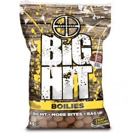 Бойлы CRAFTY CATCHER BIG HIT Spicy Krill & Garlic 20мм. 1 кг.