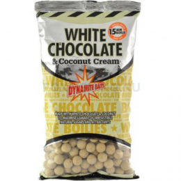Бойлы DYNAMITE BAITS WHITE CHOCOLATE & COCONUT CREAM 1 кг 15 мм