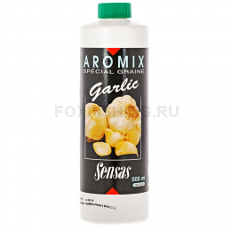 Аттрактант SENSAS AROMIX Garlic 0.5л