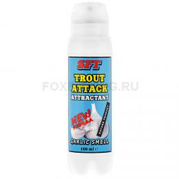Аттрактант SFT TROUT ATTACK с запахом чеснока