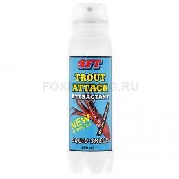 Аттрактант SFT TROUT ATTACK с запахом кальмара