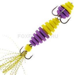 Мандула OT FILLA ВИБРО #23 цвет желто-фиолетовый