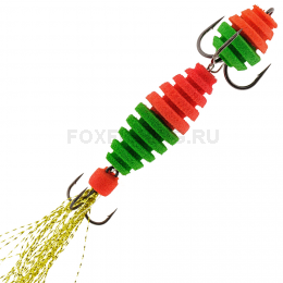 Мандула OT FILLA ВИБРО #15 цвет красно-зеленый