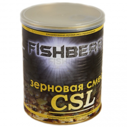 """Прикормка FISH BERRY SPOD MIX Зерновая смесь """"К.С.Л."""" 900мл."""