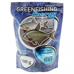 Прикормка GREENFISHING ENERGY ICE SERIES Белая рыба (Турбо)