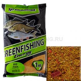 Прикормка GREENFISHING ENERGY Big Fish 1кг