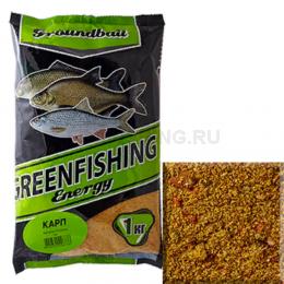 Прикормка GREENFISHING ENERGY Карп 1кг