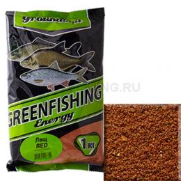 Прикормка GREENFISHING ENERGY Лещ Red 1кг