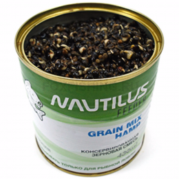 Прикормка NAUTILUS GRAIN MIX HEMP (Конопля)