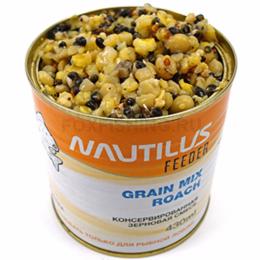 Прикормка NAUTILUS GRAIN MIX ROACH (Плотва)