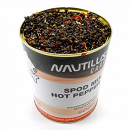 Прикормка NAUTILUS SPOD MIX HOT PEPPER 900ml (Конопля с перцем)