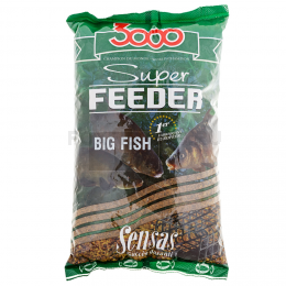 Прикормка SENSAS 3000 Super FEEDER Big Fish 1кг
