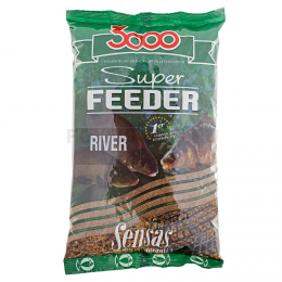 Прикормка SENSAS 3000 Super FEEDER RIVER 1кг
