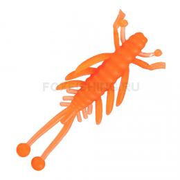 Силиконовая приманка RED MACHINE ПЛАМЯ 1.5 Orange