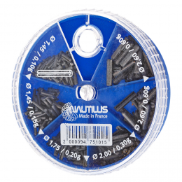 Дробь NAUTILUS Split Wire 6 Cases 0.1-0.6гр