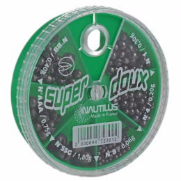 Дробь NAUTILUS SUPER DOUX 6 Cases #SSG-8 0.06-1.8гр