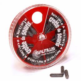 Дробь NAUTILUS SUPER DOUX CROTE de SOURIS Crotte de Souris 6 Cases 0.2-2.5гр
