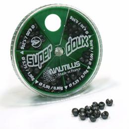 Дробь NAUTILUS SUPER DOUX ZIG ZAG Zig-Zag 6 Cases d-4.5-6мм 0.5-1.2гр