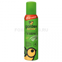 Репеллент Gardex Family аэрозоль от комаров 150мл