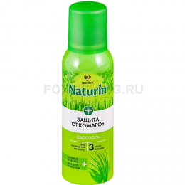 Репеллент Gardex Naturin аэрозоль от комаров 100мл