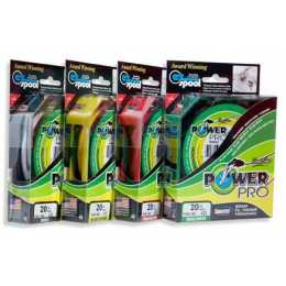 Леска плетеный шнур POWER PRO MOSS GREEN 0,32 (92м.)
