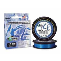 Зимний шнур POWER PRO ICE BLUE 45м. 0.15мм.BLUE