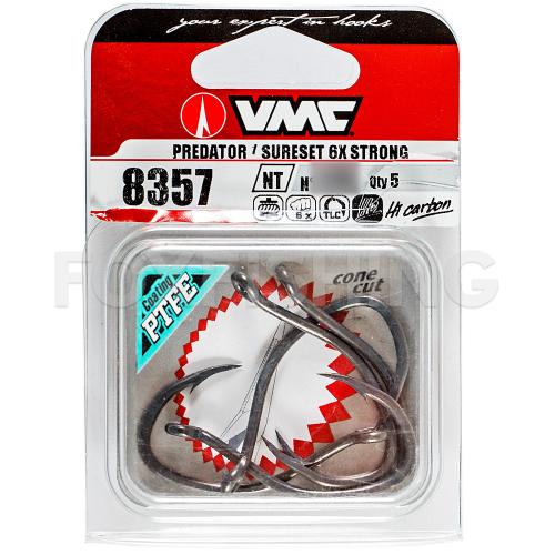 Крючки VMC 8357NT 7/0 бронза фото №2