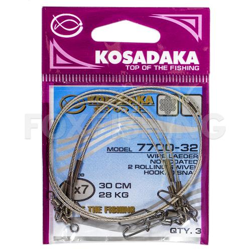 Поводки KOSADAKA PROFESSIONAL 7X7 15см. 10кг. фото №1