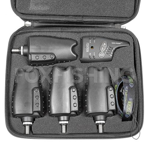 Электронный сигнализатор FLAJZAR FISHTRON Q9-RGB-TX 4+1 Multicolour фото №13