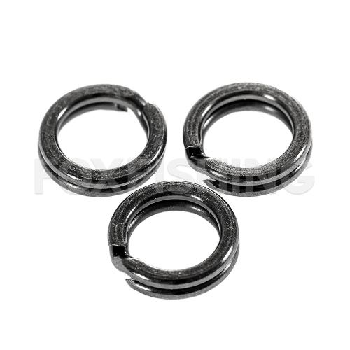 Заводные кольца MADCAT SPLIT RINGS 10mm - 100lb - 16шт. фото №1