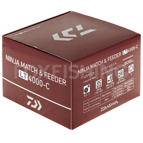 Катушка безынерционная DAIWA NINJA MATCH & FEEDER LT4000-C фото №10