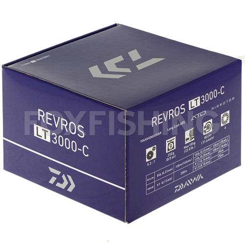 Катушка безынерционная DAIWA REVROS LT 3000-C фото №9