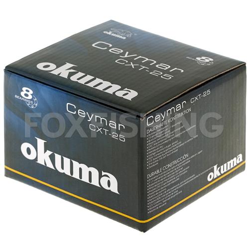 Катушка безынерционная OKUMA CEYMAR XT CXT-25FD фото №10