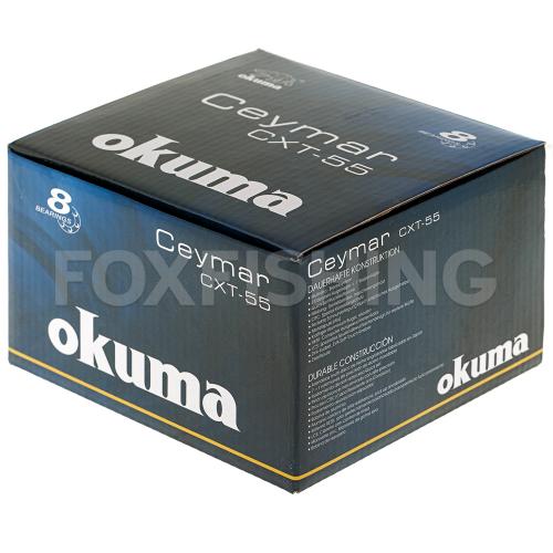 Катушка безынерционная OKUMA CEYMAR XT CXT-55FD фото №10