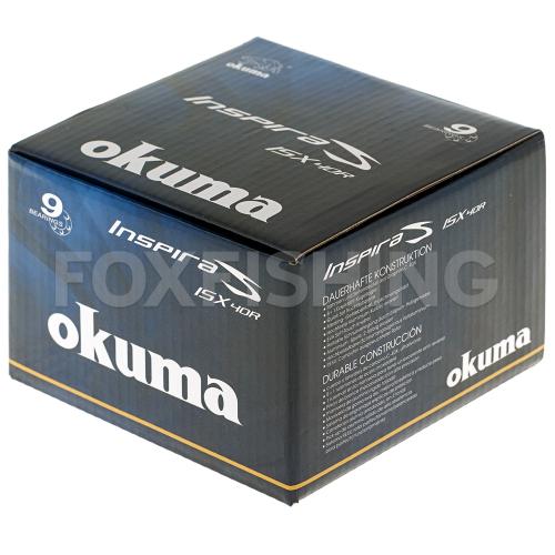Катушка безынерционная OKUMA INSPIRA ISX-40R фото №10