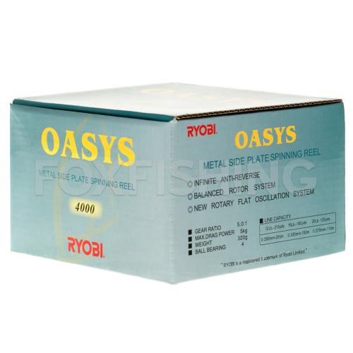 Катушка безынерционная RYOBI OASYS 4000 фото №9