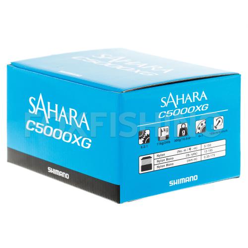 Катушка безынерционная SHIMANO SAHARA C5000XGFI фото №9