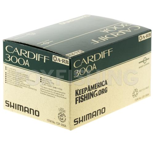 Катушка мультипликаторная SHIMANO CARDIFF 300A (RH) фото №8