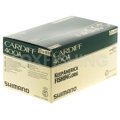 Катушка мультипликаторная SHIMANO CARDIFF 400A (RH) фото №8