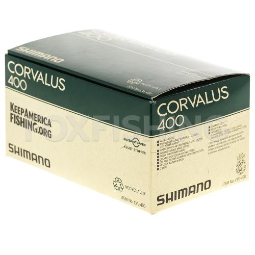 Катушка мультипликаторная SHIMANO CORVALUS 400 фото №8