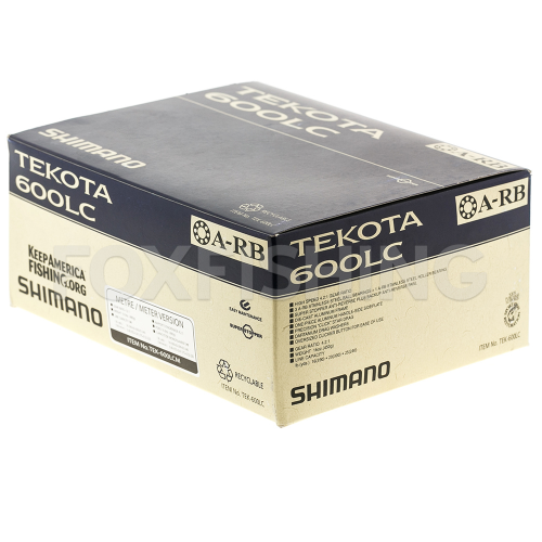 Катушка мультипликаторная SHIMANO TEKOTA 600LCM фото №8