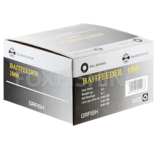 Катушка с байтраннером GRFISH BAITFEEDER 1060 фото №10
