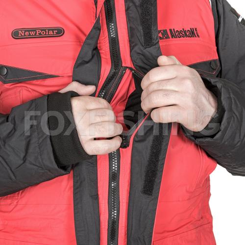 Костюм ALASKAN NEW POLAR красный/черный XL фото №9